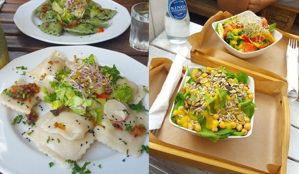 Gesundes Essen in Warschau