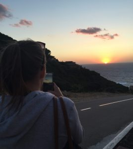 Sardinien Costa Paradiso Sonnenuntergang