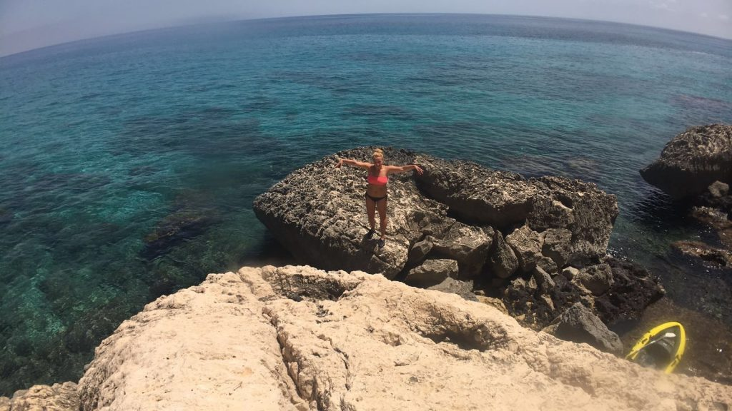 Sardinien Kajak Meer Einsamkeit