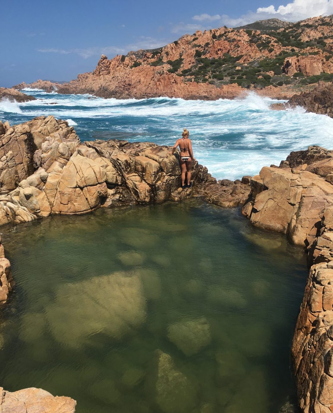 Sardinien Costa Paradiso Naturalpool