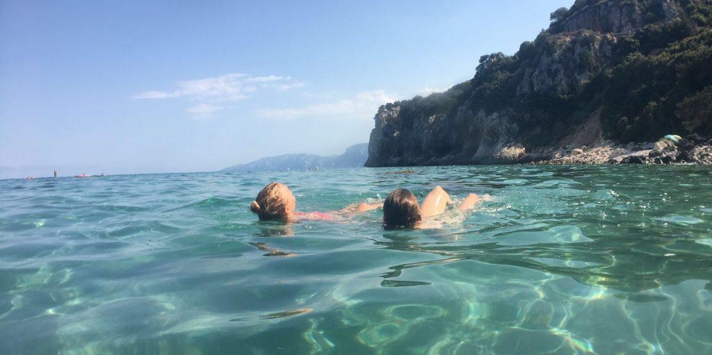 Sardinien Mittelmeer Strand entspannen