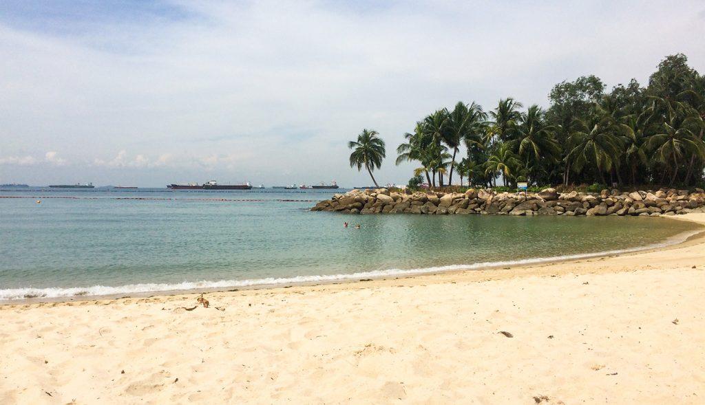 Strand Sentosa Island in Singapur
