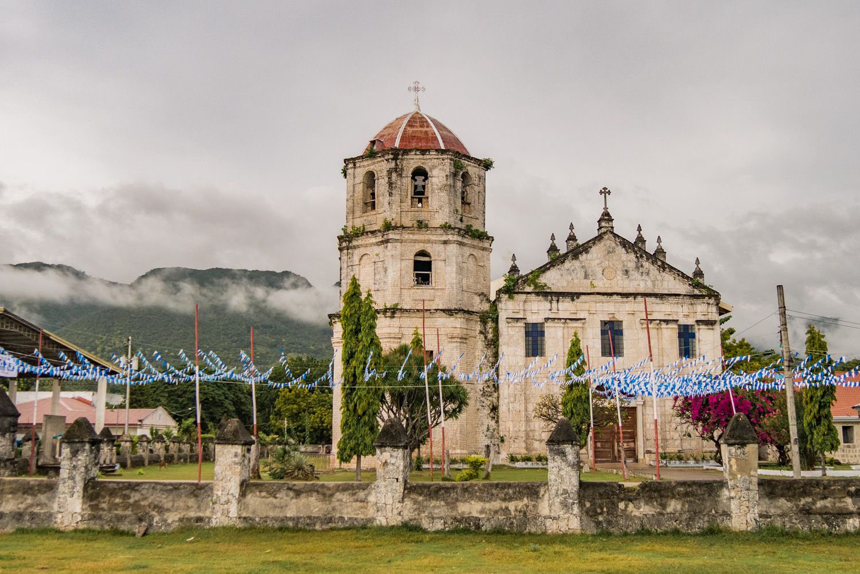 Kirche in Oslob, Cebu, Philippinien