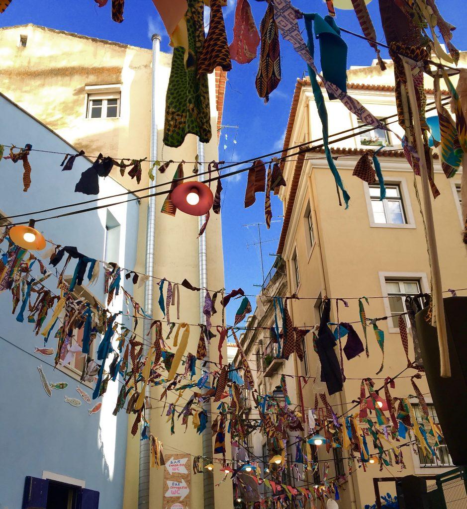Straßenfest Lissabon
