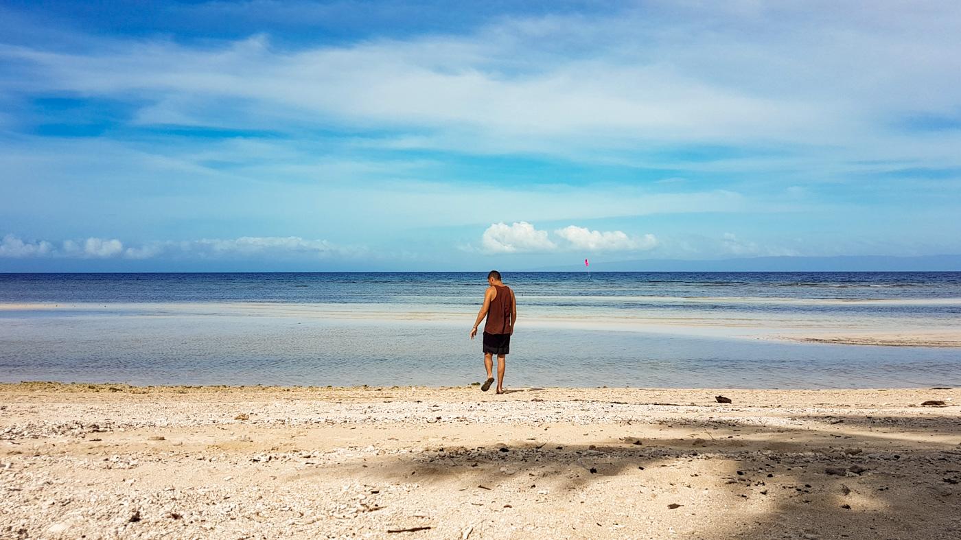 Der Ausblick aus unserer Hütte im Islanders Paradise Beach Resort
