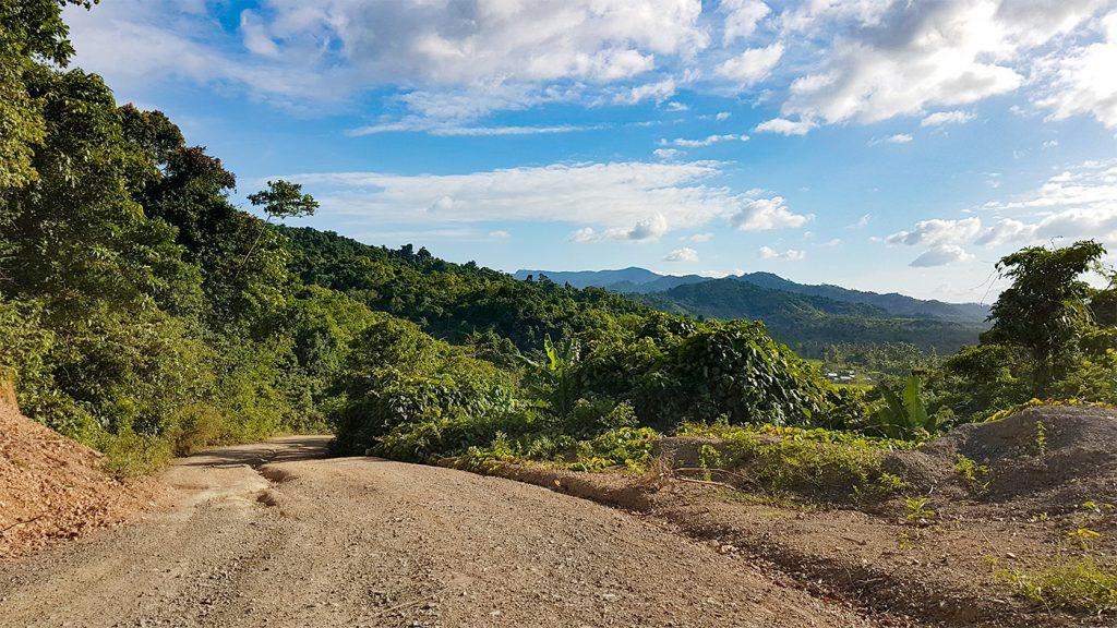 Der Weg zum Duli Beach
