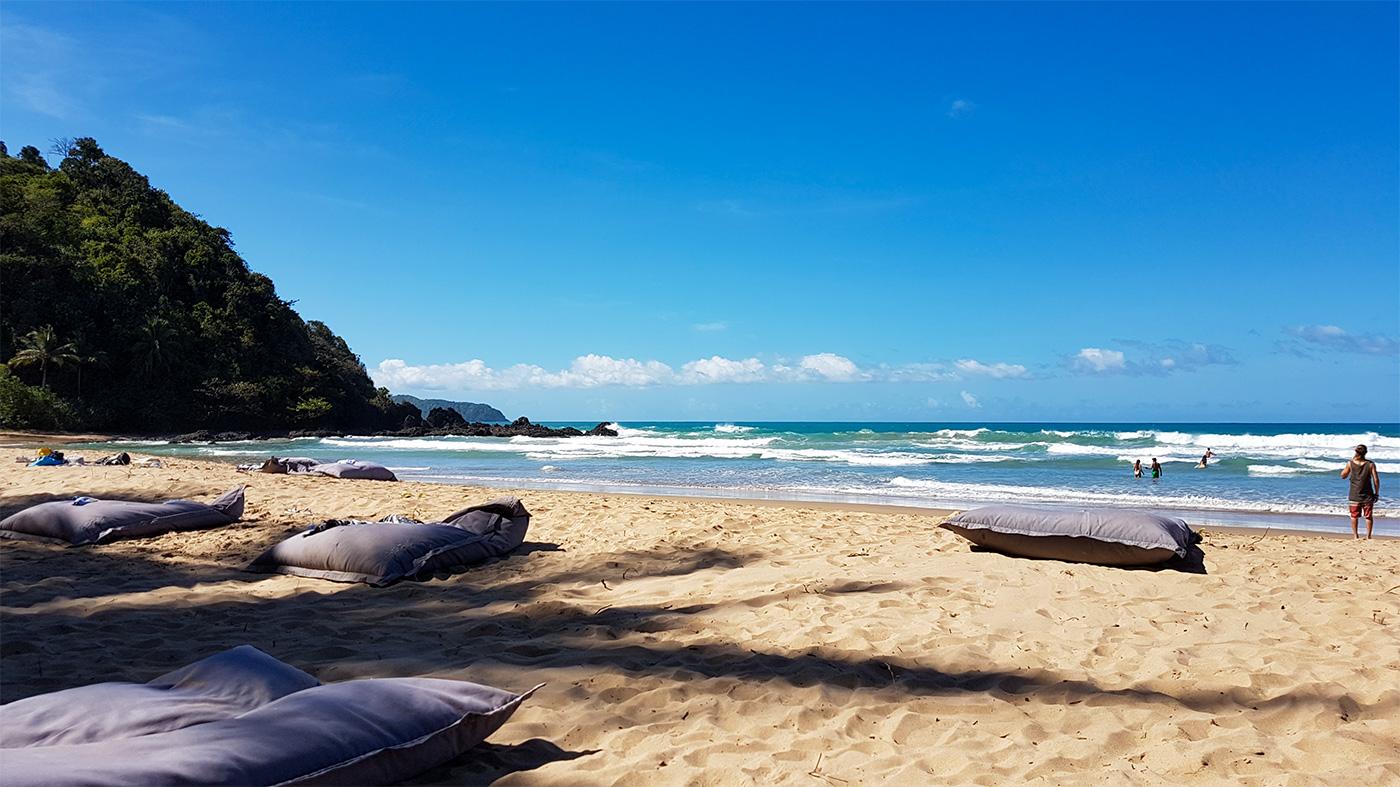 Der Duli Beach bei El Nido