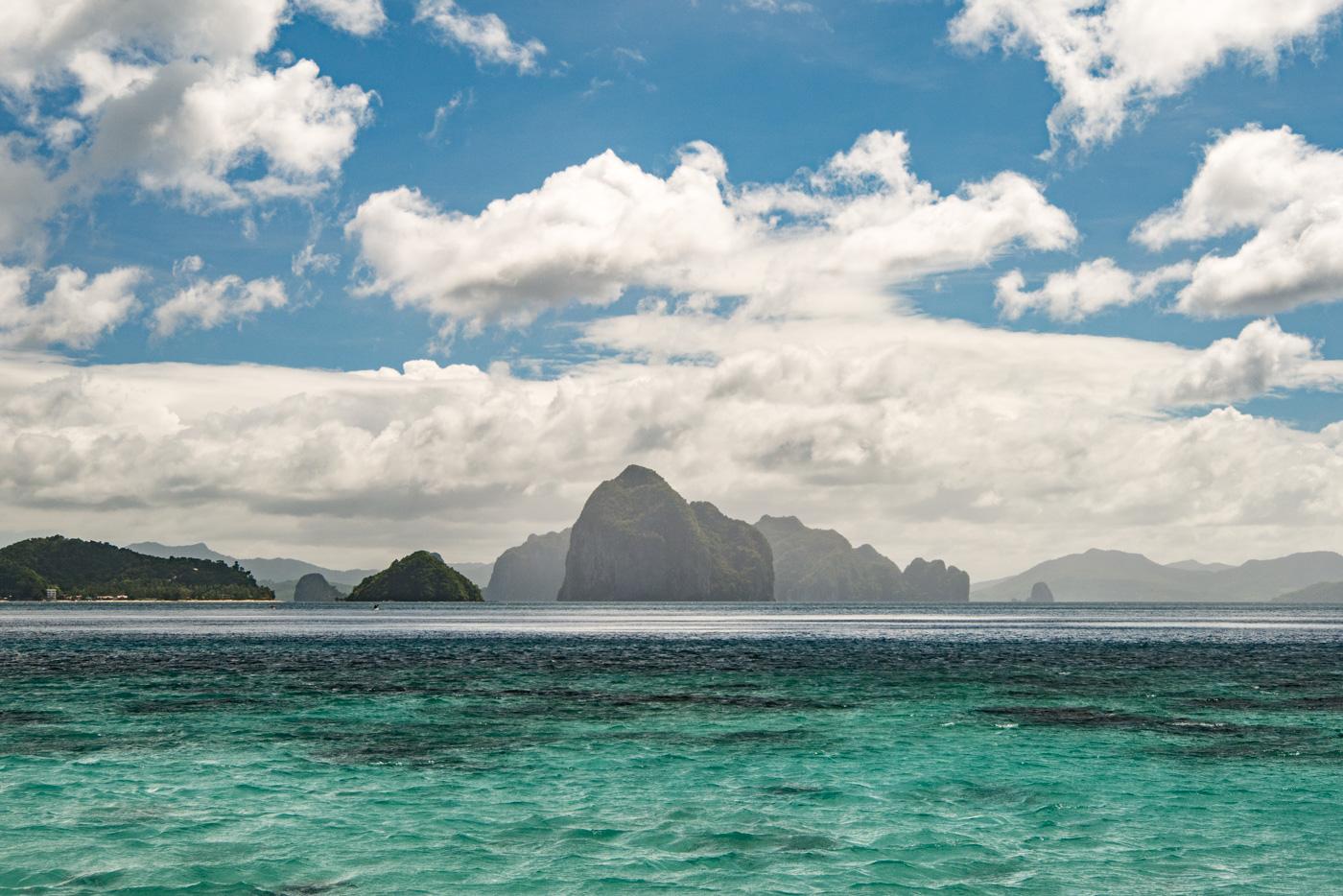 Die Inseln des Bacuit Archipels bei El Nido, Palawan - Philippinen