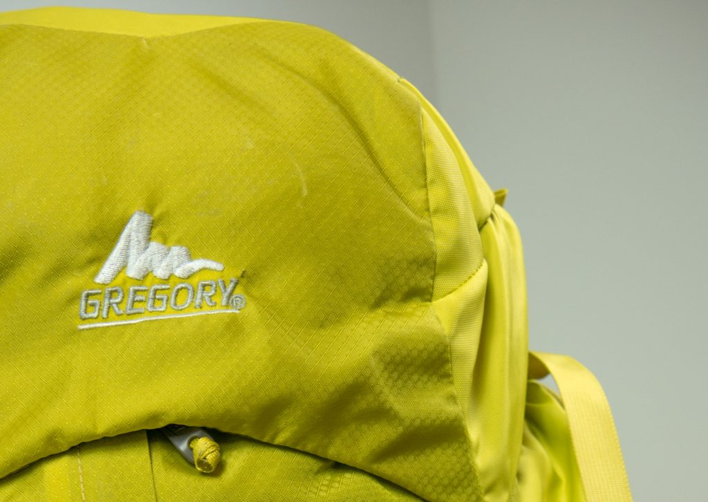 Backpack von Gregory in gelb
