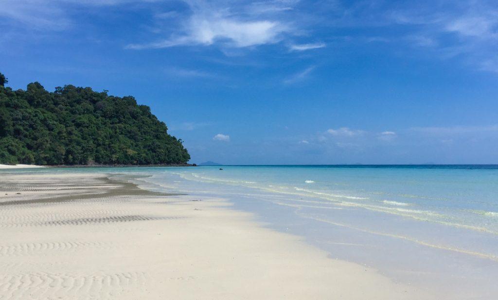Traumhafter Strand auf Koh Rok