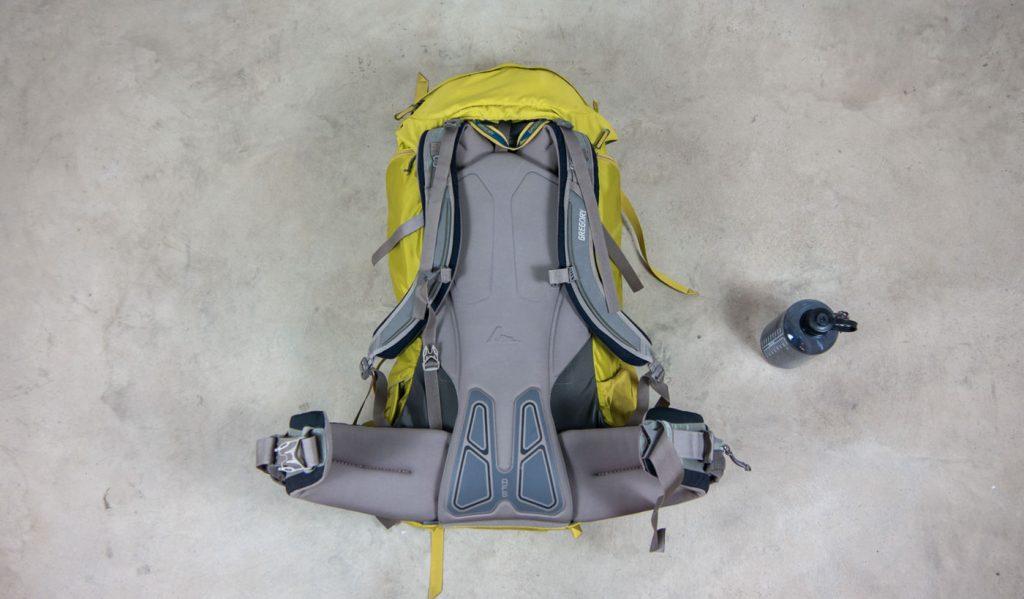 Das Tragesystem des Backpack Baltoro 75 von Gregory