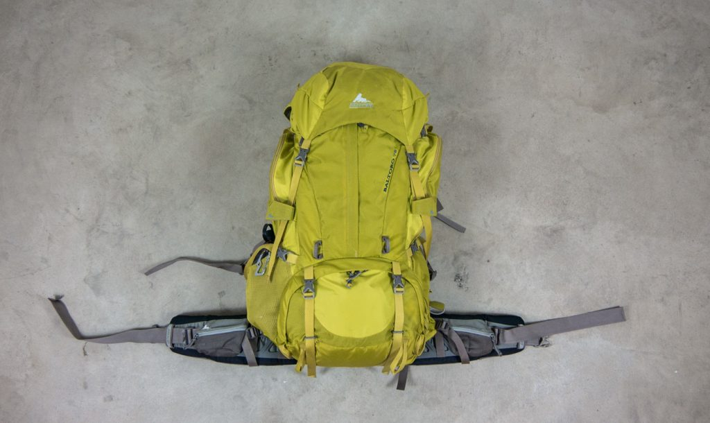 Der Backpack Baltoro 75 von Gregory Frontalansicht