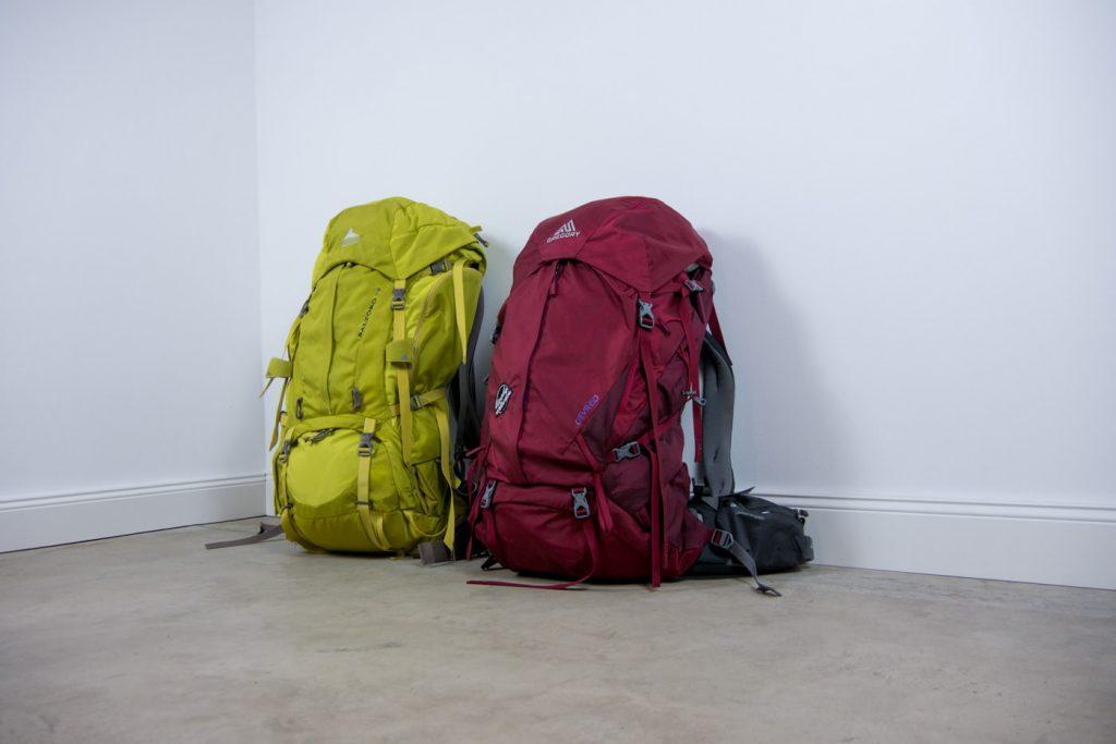 Die Backpacks Baltoro und Deva von Gregory
