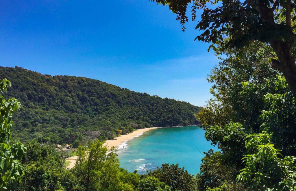 Blick auf den Bamboo Beach auf Koh Lanta