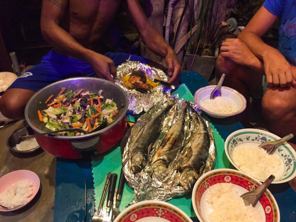 Homemade Thaifood auf Koh Lanta bei Eak und Kate