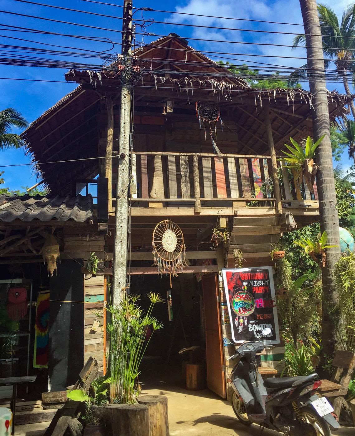 Hippiehütte am Longbeach auf Koh Lanta