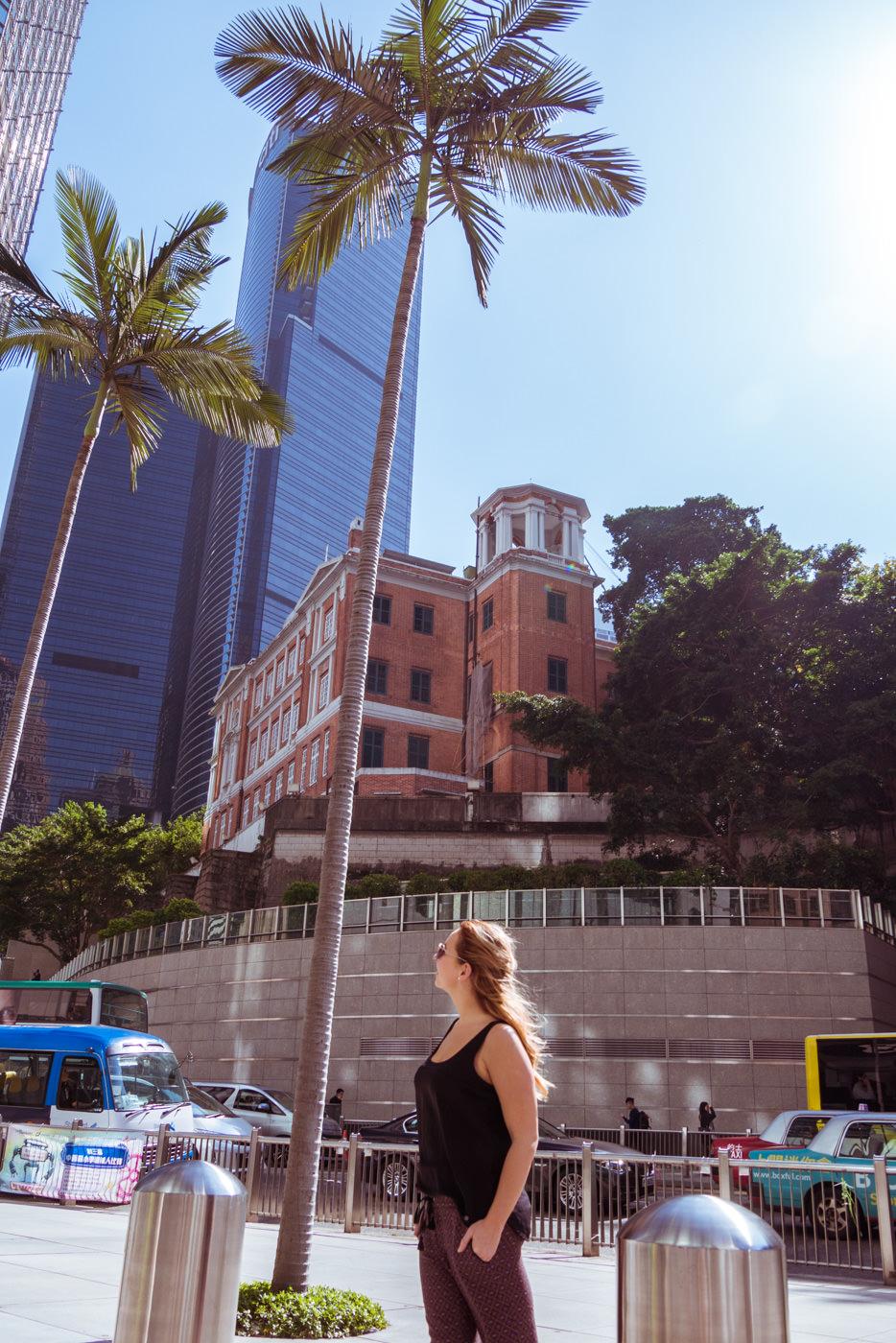 Alt trifft auf Neu - Palme und Julia auf Hongkong Island