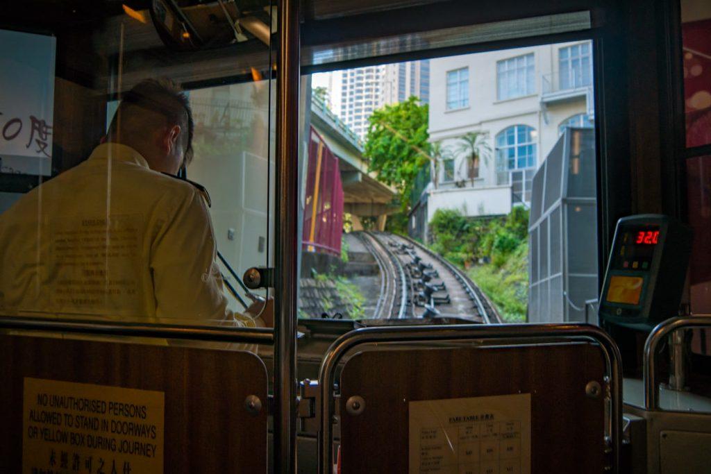 Peak Tram Hongkong