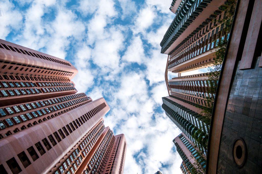 Wolkenkratzer Hongkong Island