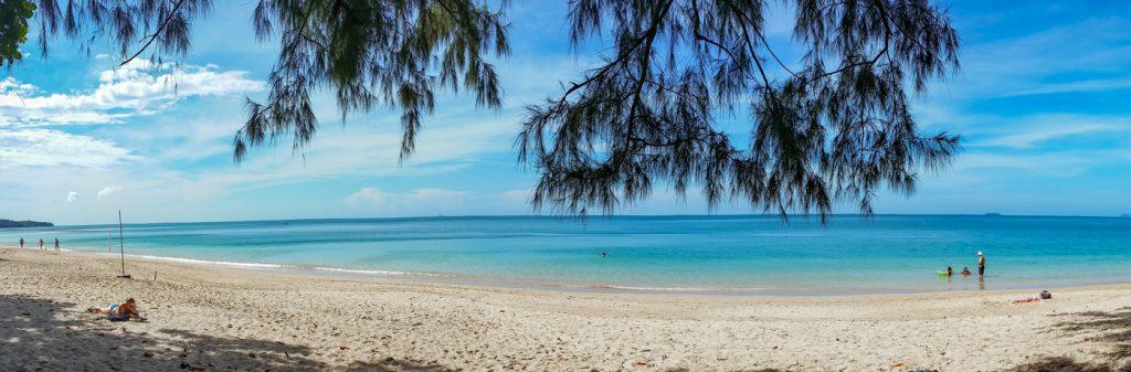 Strand auf Koh Lanta in Thailand