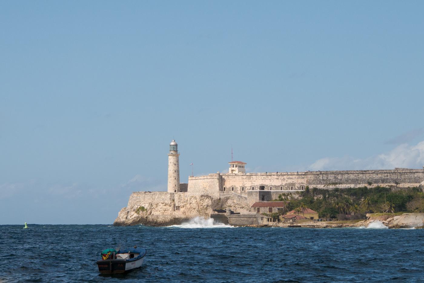 Castillo de los tres reyes del morro in Havanna