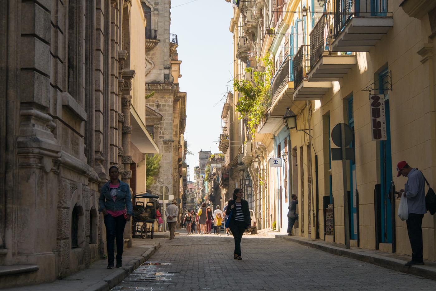 Die malerischen Straßen Havannas