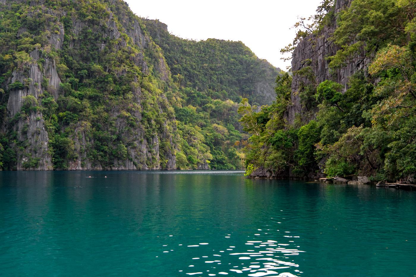 Kayangan Lake bei Busuanga auf den Philippinen