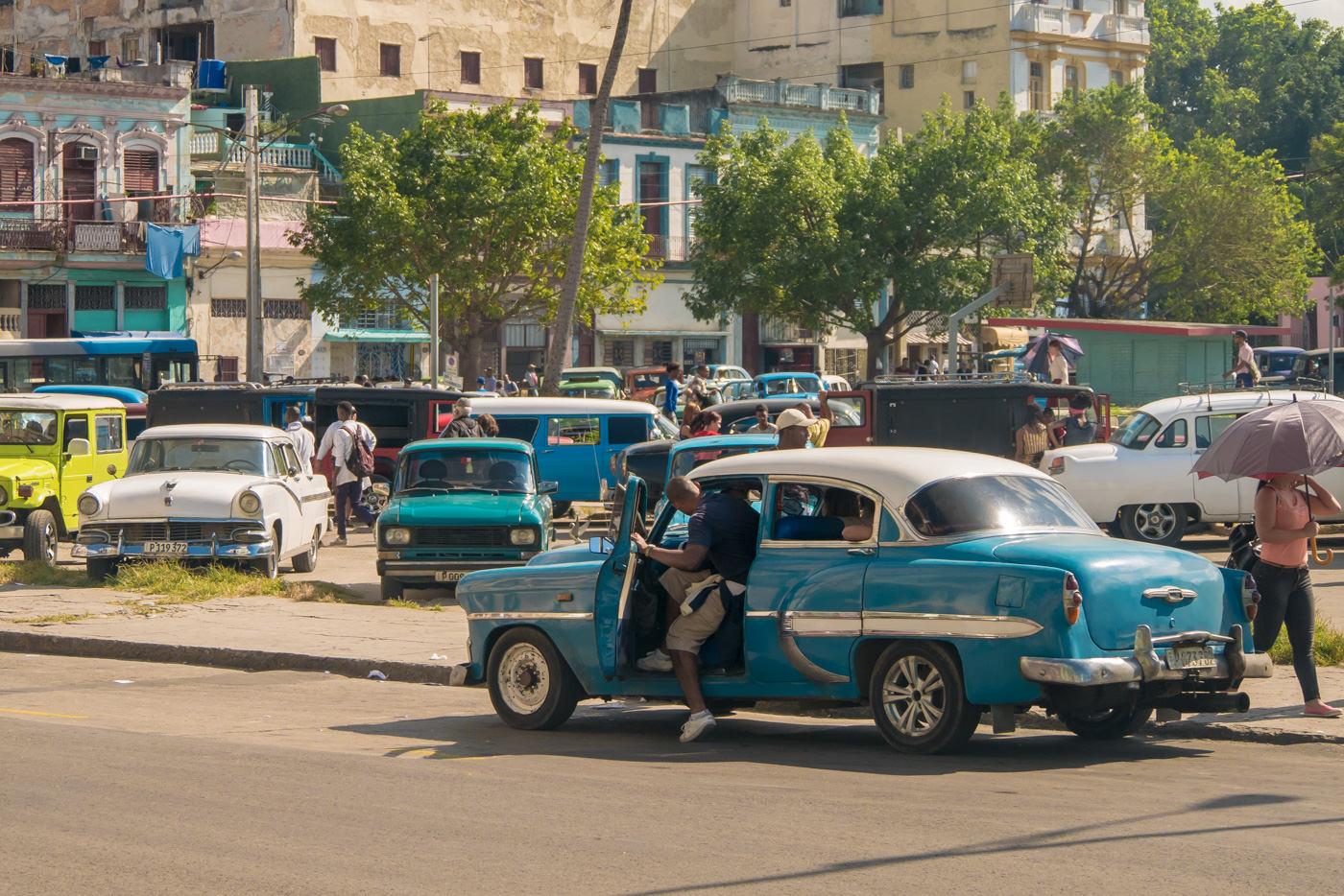 Oldtimer in Havanna, Kuba