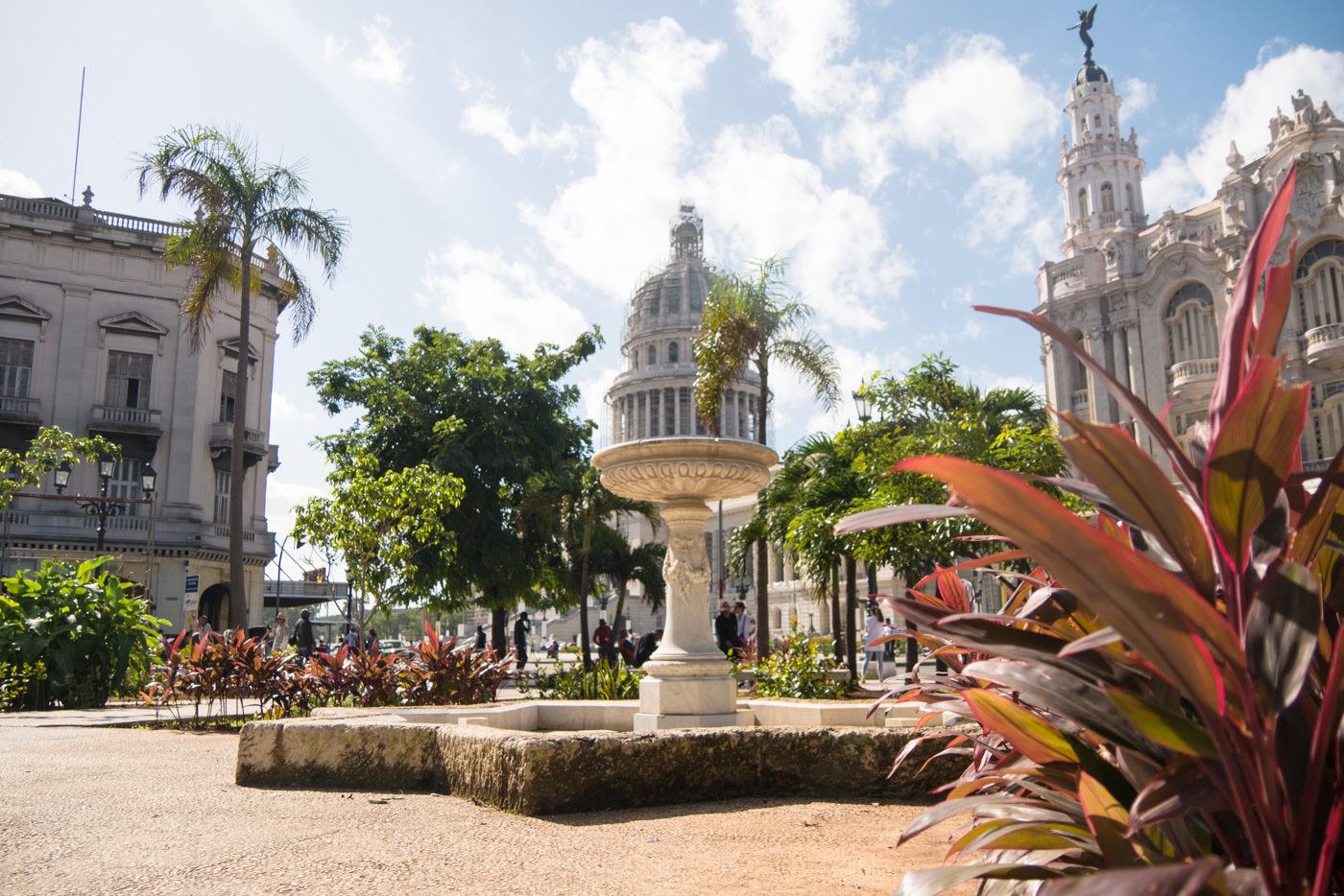 Der Parque Central in Havanna