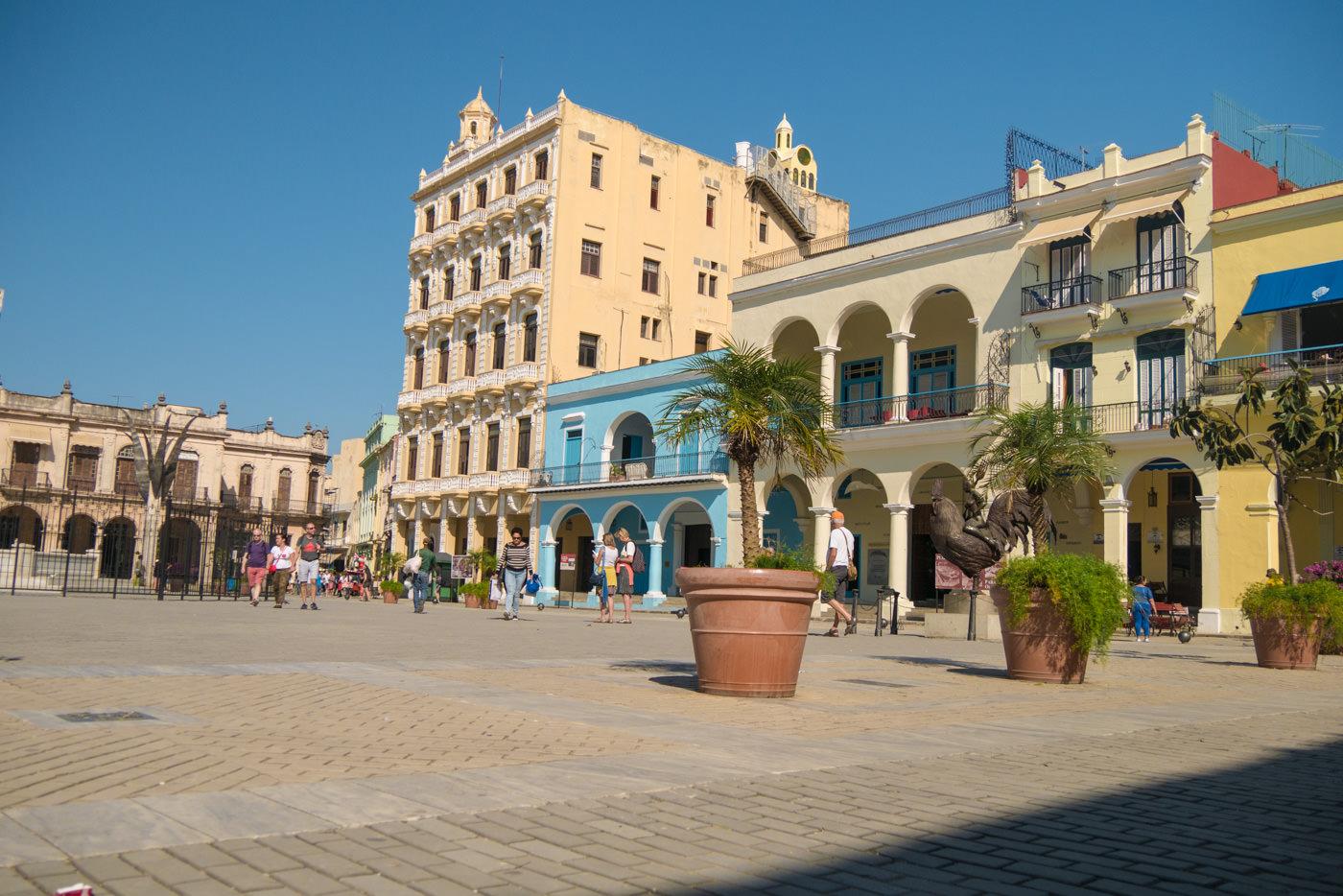 Sehenswürdigkeiten am berühmten Plaza Vieja