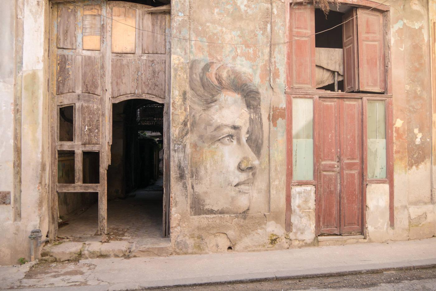Mural in Havanna