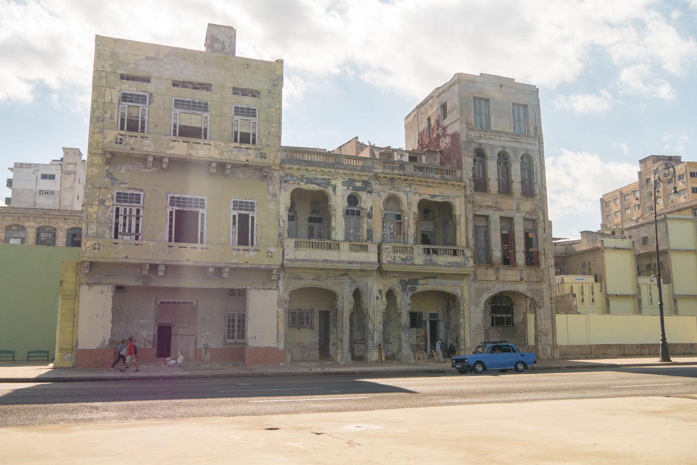 Havanna ist nicht nur Bunt - sondern zum größten Teil auch grau und zerfallen