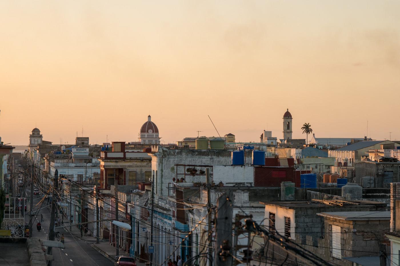 Cienfuegos, Kuba von Oben