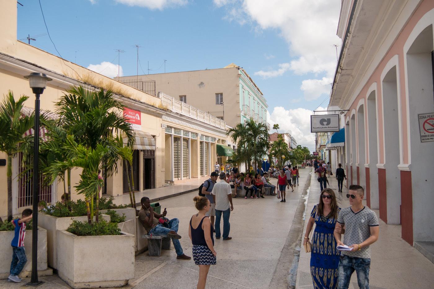 Der Boulevard in Cienfuegos