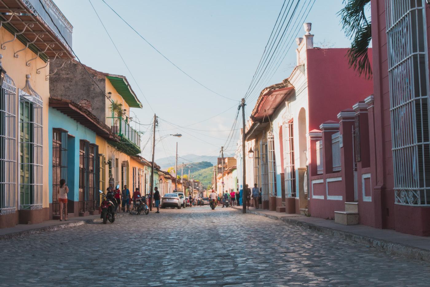Die bunten Straßen Trinidads in Kuba