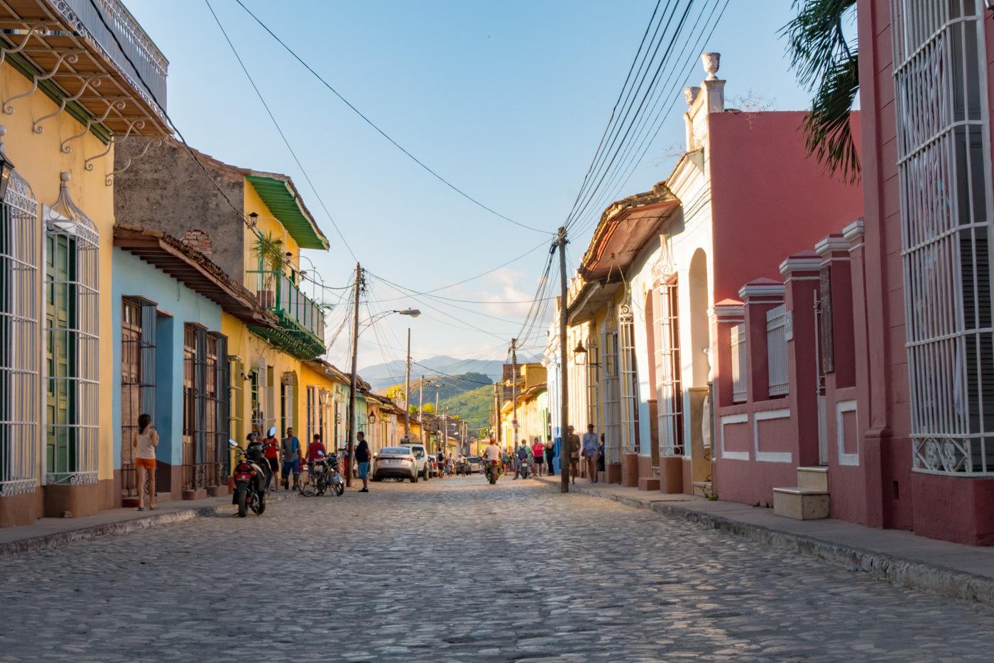 Die bunten Straßen in Trinidad, Kuba