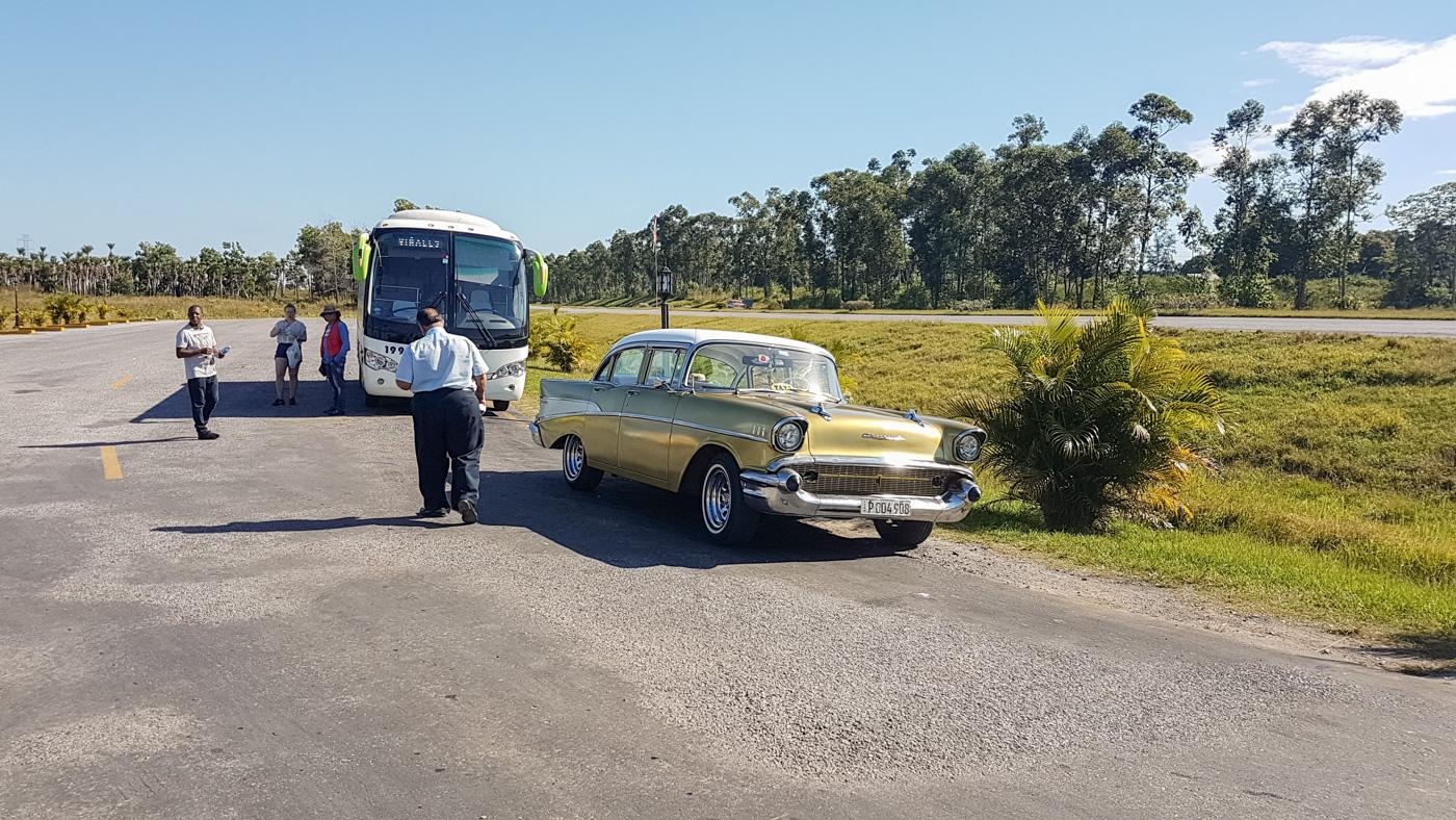 Unser Bus von Havanna nach Vinales