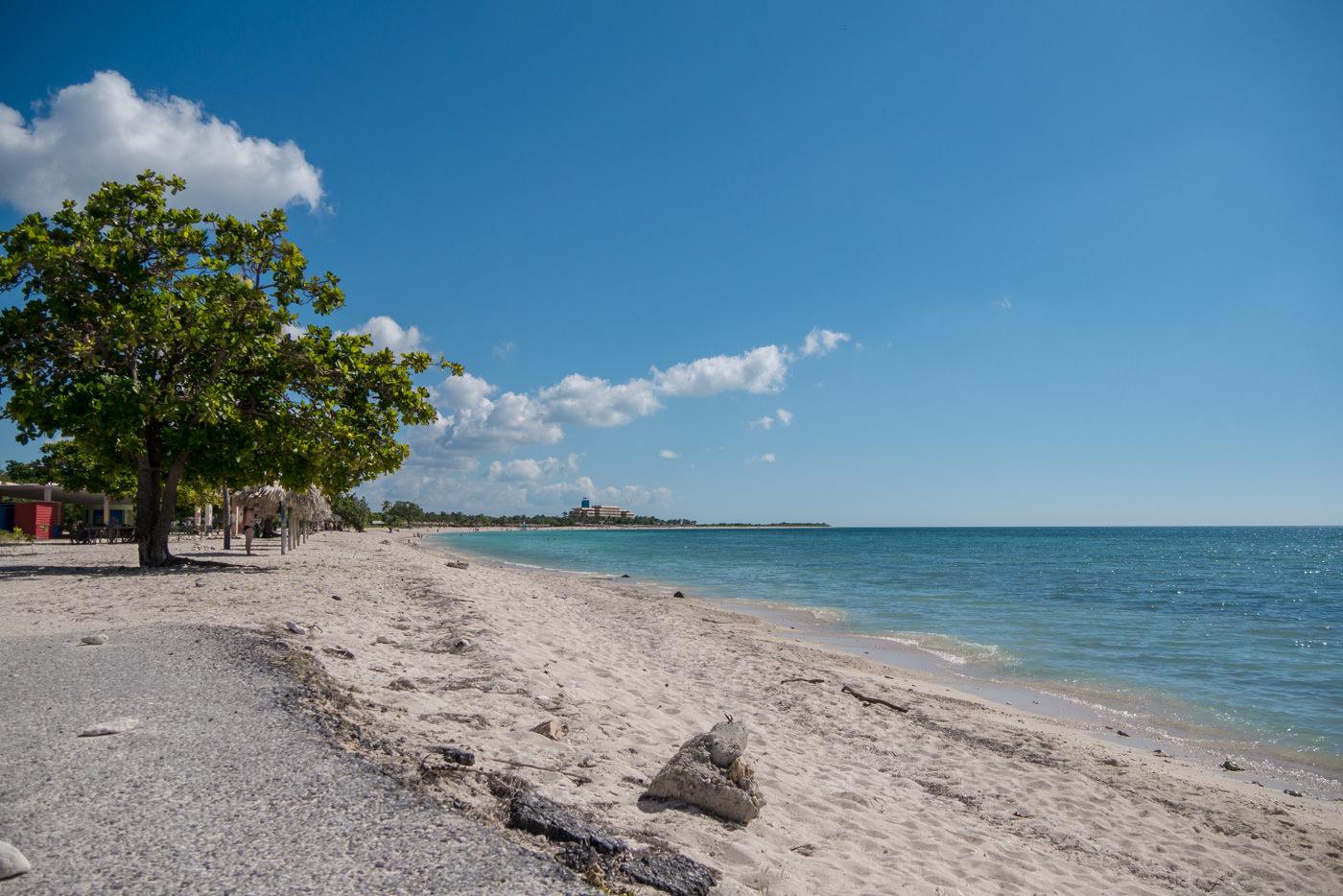 Der Playa Ancon bei Trinidad - ziemlich Touristisch