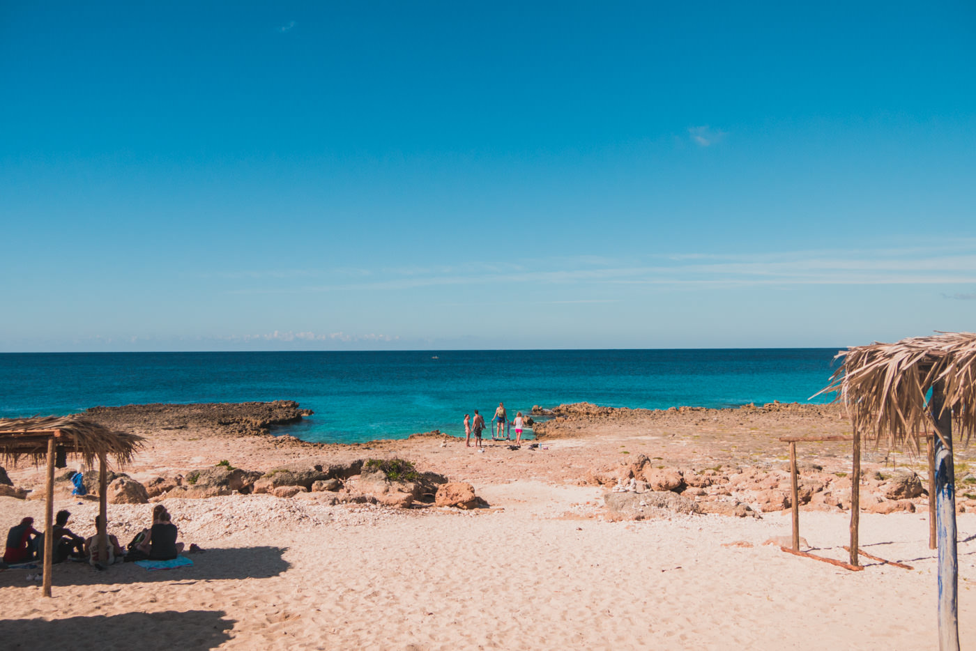 Ein Strand zum Schorncheln bei La Boca, Kuba