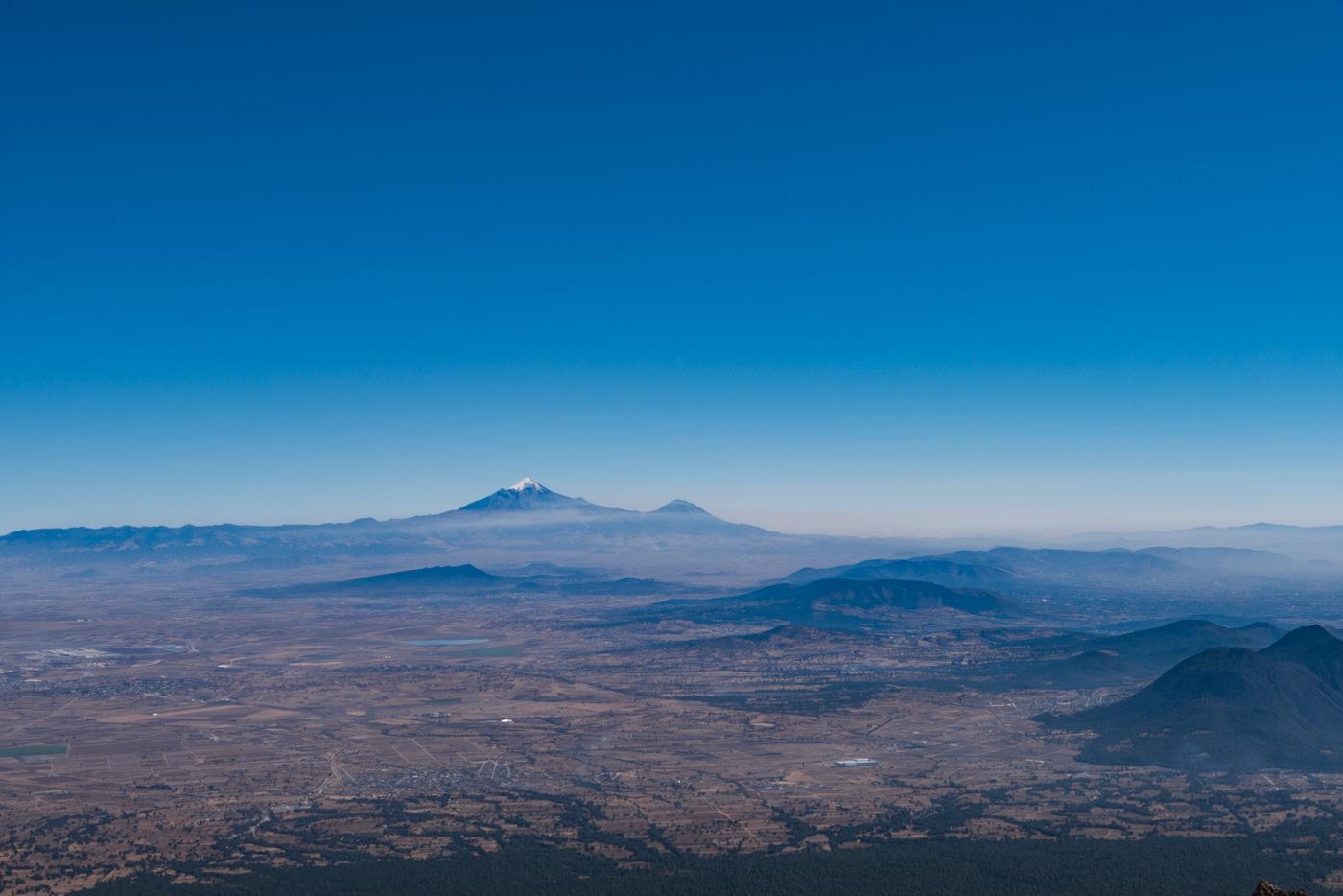 Ausblick vom Vulkan La Malinche in Puebla