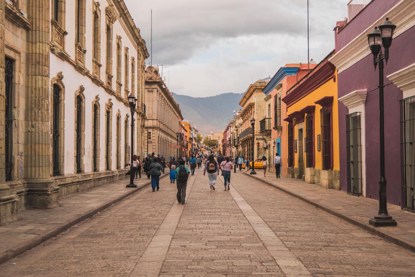 Calle Macedonio Alcala in Oaxaca