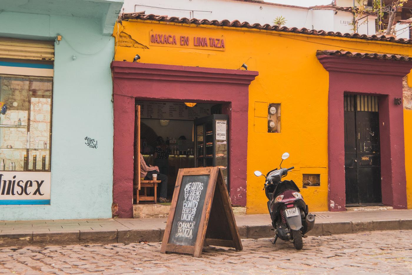 Oaxaca en una Taza - Unsere erste Adresse für guten Kaffee!