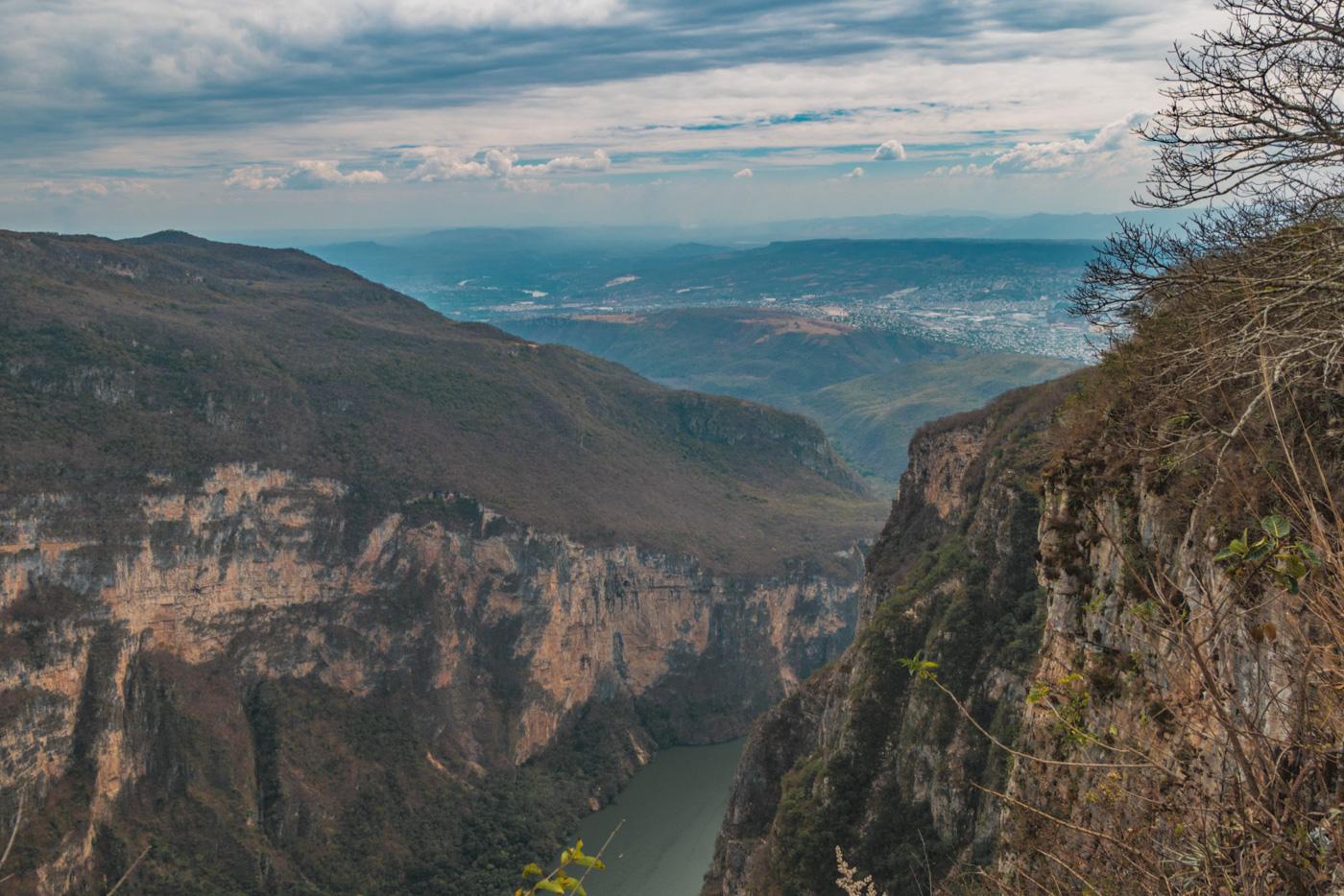 Canyon del Sumidero in Chiapas in Mexiko