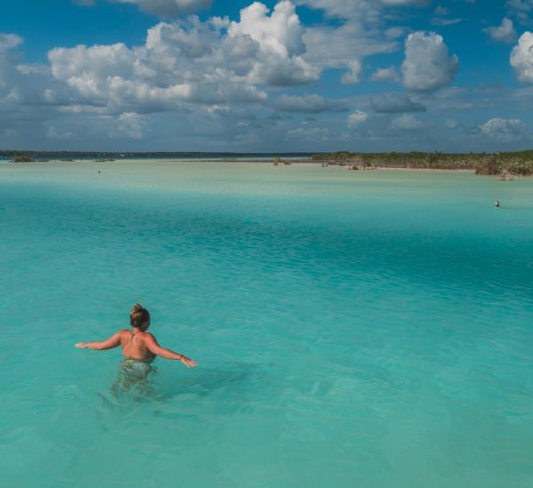 Bacalar und die Lagune der sieben Farben