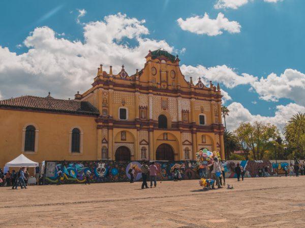Kathedrale von San Cristobal in Mexiko