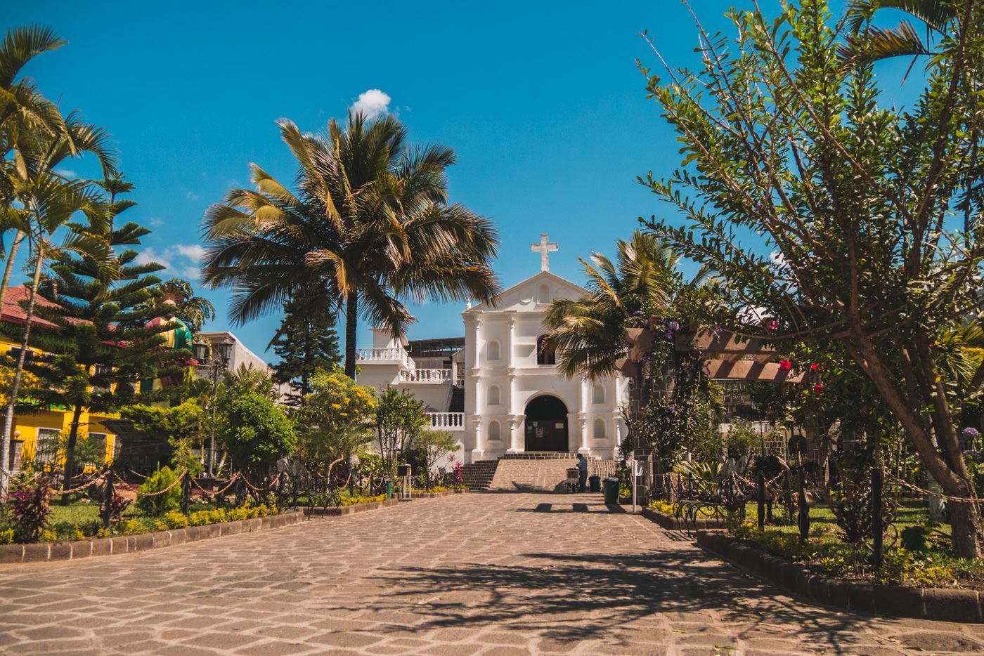 Kirche in San Pedro am See Atitlán