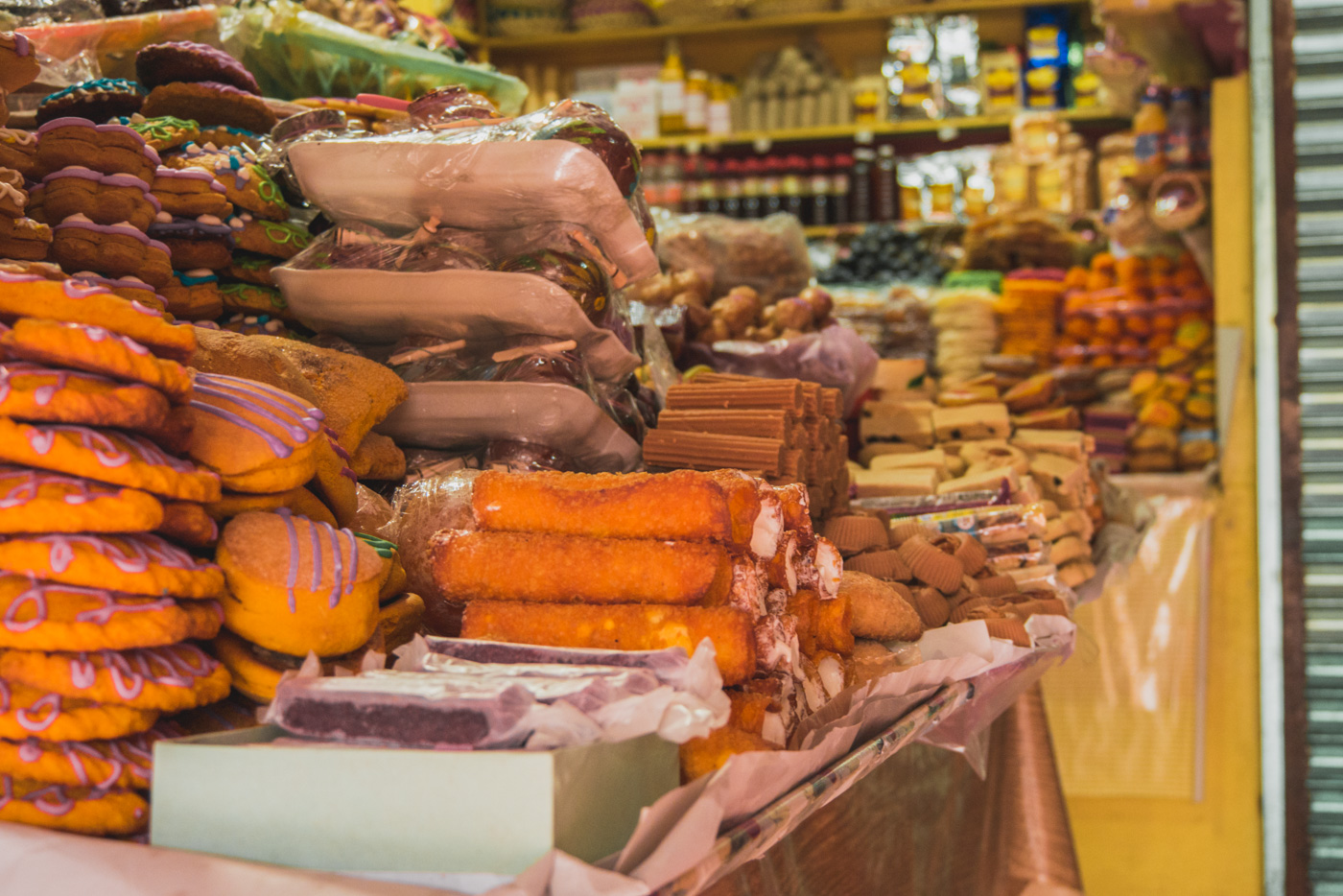 Mercado de Dulces in San Cristobal