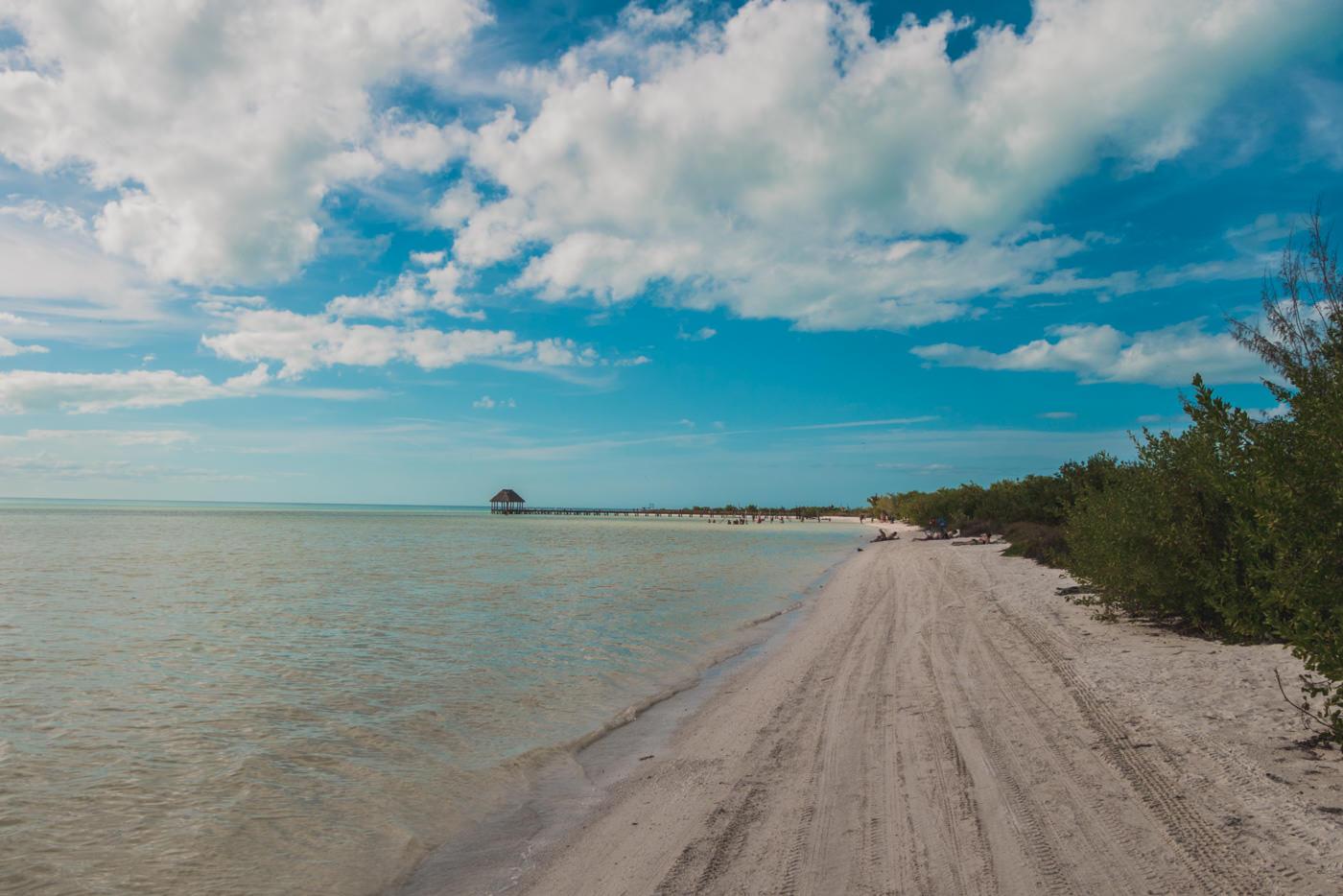 Punte Coco auf Isla Holbox in Mexiko