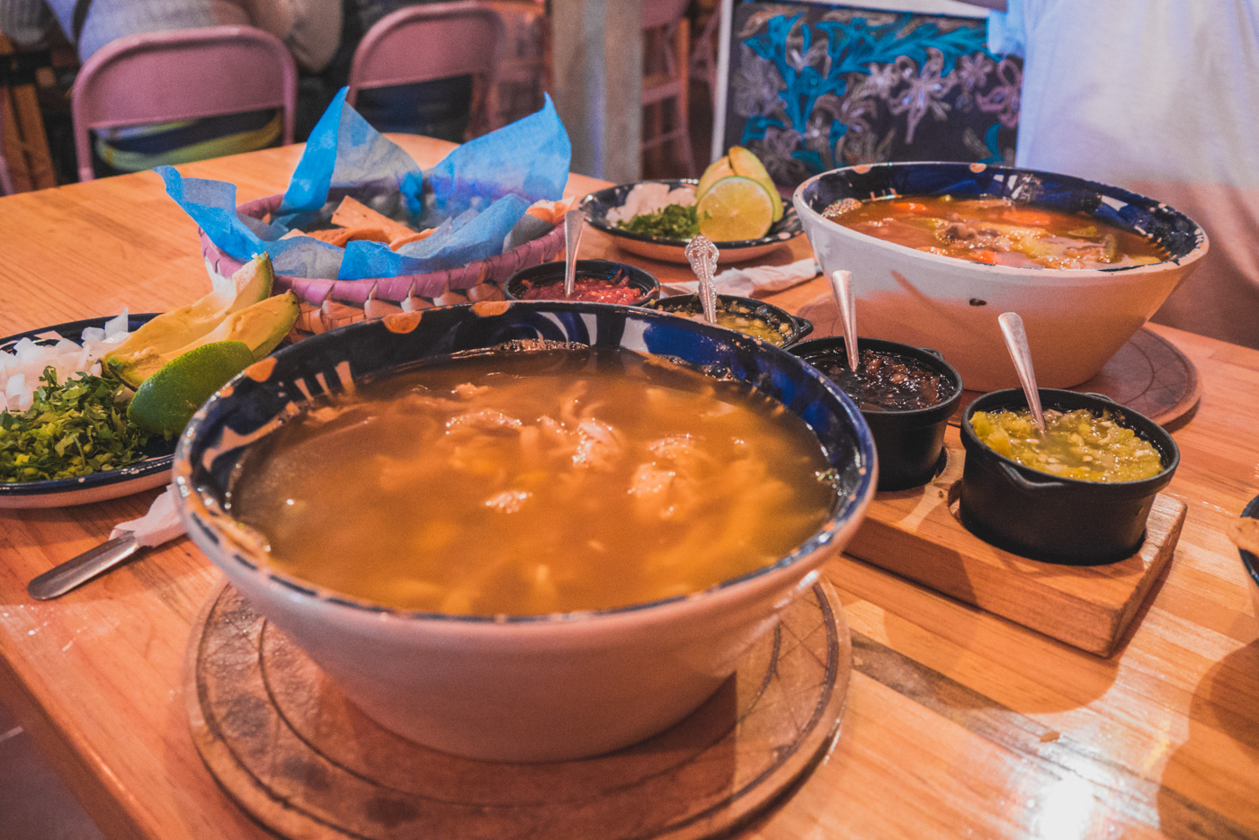 Suppe bei El Caldero in San Cristobal