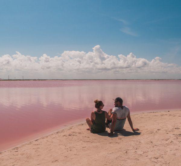 Pinke Lagune – ein Ort wie aus dem Märchen